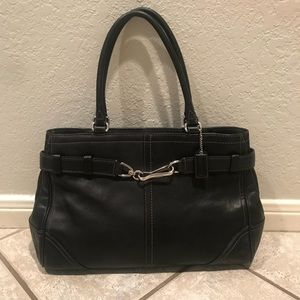 Coach Hampton carryall satchel